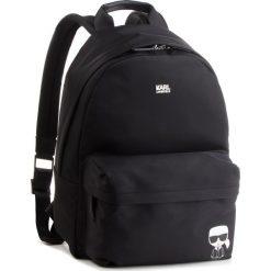 Plecak KARL LAGERFELD - K/Ikonik Nylon Backpack 86KW3087 Black 999. Czarne plecaki damskie KARL LAGERFELD, z materiału. Za 899.00 zł.