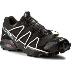 Buty SALOMON - Speedcross 4 Gtx GORE-TEX 383181 26 G0 Black/Black/Silver Metallic-X. Czarne buty sportowe męskie Salomon, z gore-texu. W wyprzedaży za 499.00 zł.