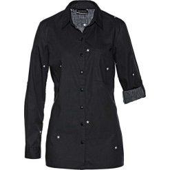 Długa bluzka z nadrukiem bonprix czarno-biały z nadrukiem. Bluzki damskie marki Colour Pleasure. Za 59.99 zł.