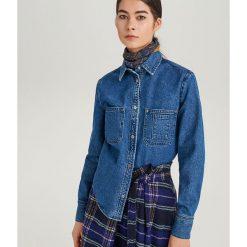 Jeansowa koszula ReDesign - Niebieski. Koszule damskie marki SOLOGNAC. W wyprzedaży za 79.99 zł.