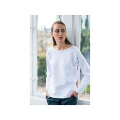 OVAL WHITE - bluza oversize biała. Białe bluzy damskie Gau great as you, z bawełny. Za 219.00 zł.