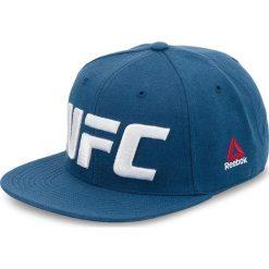 Czapka z daszkiem Reebok - Ufc Flat Peak Cap CZ9905 Bunblu. Niebieskie czapki i kapelusze męskie Reebok. Za 119.00 zł.