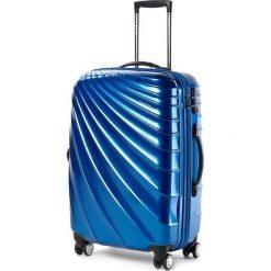 Średnia Twarda Walizka PUCCINI - PC002 B Blue 7 Niebieski. Walizki męskie Puccini. W wyprzedaży za 279.00 zł.