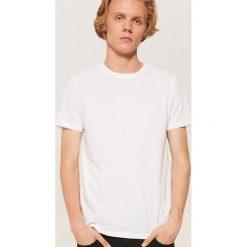Biały t-shirt - Biały. Białe t-shirty męskie House. Za 35.99 zł.