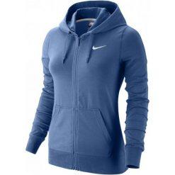 Nike Bluza W Nsw Hoodie Fz Jrsy Blue L. Niebieskie bluzy damskie Nike. W wyprzedaży za 159.00 zł.