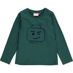 """Koszulka """"Thomas 713"""" w kolorze niebieskim. Zielone t-shirty dla chłopców marki Lego Wear Fashion, z bawełny, z długim rękawem. W wyprzedaży za 49.95 zł."""