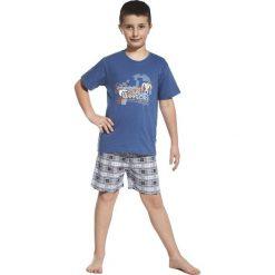 Piżama chłopięca Dangerous granatowo-szara r. 134/140. Niebieskie bielizna dla chłopców Cornette. Za 59.51 zł.