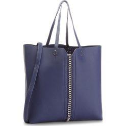 Torebka JENNY FAIRY - RC15344 Navy. Niebieskie torebki do ręki damskie Jenny Fairy, ze skóry ekologicznej. W wyprzedaży za 69.99 zł.