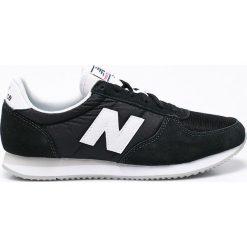 New Balance - Buty U220BK. Szare buty sportowe męskie New Balance, z materiału. W wyprzedaży za 259.90 zł.