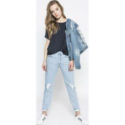 Diesel - Jeansy Neekhol. Niebieskie jeansy damskie Diesel. W wyprzedaży za 449.90 zł.