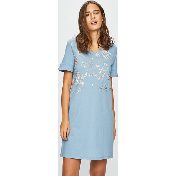 a1d30f9c971099 Triumph - Piżama - Niebieskie piżamy damskie Triumph, s, bez wzorów ...