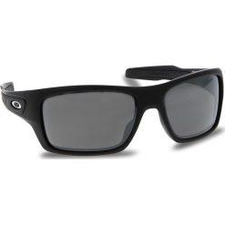 Okulary przeciwsłoneczne OAKLEY - Turbine OO9263-4263 Matte Black/Prizm Black Iridium. Czarne okulary przeciwsłoneczne męskie Oakley, z tworzywa sztucznego. W wyprzedaży za 549.00 zł.