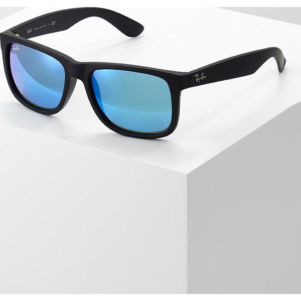 70c9fe2a19b043 Rayban Justin Okulary Przeciwsłoneczne Blackgreenmirror Blue