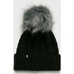 The North Face - Czapka. Czarne czapki i kapelusze damskie The North Face, z dzianiny. W wyprzedaży za 159.90 zł.