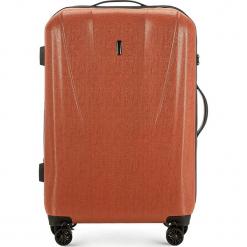 Walizka średnia 56-3P-962-65. Różowe walizki damskie Wittchen, z gumy. Za 239.00 zł.