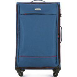 Walizka duża 56-3S-463-90. Niebieskie walizki damskie Wittchen. Za 299.00 zł.