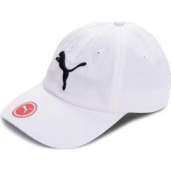 Czapka z daszkiem PUMA - Ess Cap 052919 02 White/Big Cat. Białe czapki i kapelusze damskie Puma, z bawełny. Za 59.00 zł.