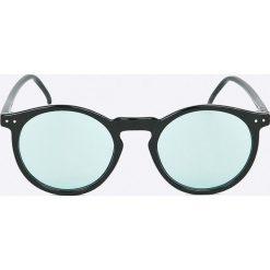 Selected - Okulary Sunday. Brązowe okulary przeciwsłoneczne męskie Selected, z materiału. W wyprzedaży za 99.90 zł.