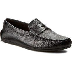 Mokasyny CLARKS - Reazor Drive 261232447 Black Leather. Czarne mokasyny męskie Clarks, z materiału. W wyprzedaży za 229.00 zł.