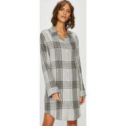 Emporio Armani - Koszula nocna. Szare koszule nocne damskie Emporio Armani, z bawełny. W wyprzedaży za 319.90 zł.