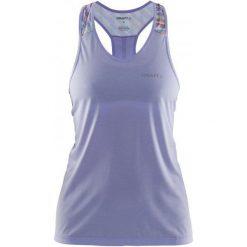Craft Koszulka Pulse Sv. Purple S. Fioletowe t-shirty i topy dla dziewczynek Craft, na ramiączkach. W wyprzedaży za 135.00 zł.