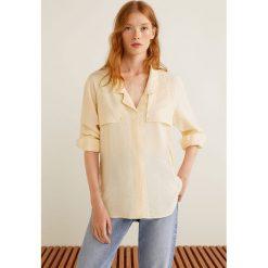 Mango - Koszula Oil. Szare koszule damskie Mango, z długim rękawem. Za 139.90 zł.