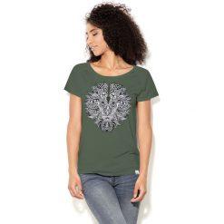 Colour Pleasure Koszulka CP-034 208 zielona r. XXXL/XXXXL. T-shirty damskie Colour Pleasure. Za 70.35 zł.