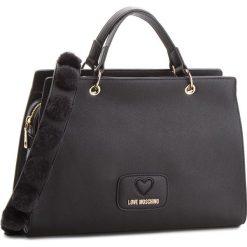 Torebka LOVE MOSCHINO - JC4281PP06KL0000  Nero. Czarne torebki do ręki damskie Love Moschino, ze skóry ekologicznej. W wyprzedaży za 689.00 zł.