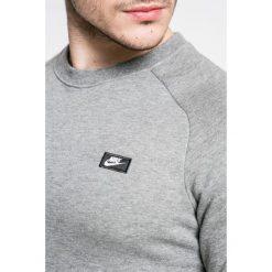 Nike Sportswear - Bluza. Szare bluzy męskie Nike Sportswear, z aplikacjami, z bawełny. W wyprzedaży za 179.90 zł.
