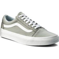 Tenisówki VANS - Old Skool VA38G1QD5 (Leather) Oxford/Drizzle. Szare trampki męskie Vans, z gumy. W wyprzedaży za 259.00 zł.