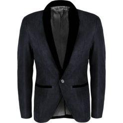 Koszula męska elegancka slim fit czarna Recea Czarne  vto4a
