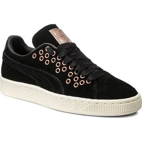 Sneakersy PUMA Suede Xl Lace Vr Wn's 364107 01 Puma BlackPuma Black
