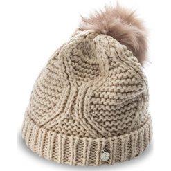 Czapka GUESS - Not Coordinated Wool AW6801 WOL01 M NUD. Brązowe czapki i kapelusze damskie Guess, z materiału. W wyprzedaży za 139.00 zł.