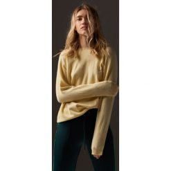 Sweter - Żółty. Kardigany damskie marki bonprix. W wyprzedaży za 79.99 zł.
