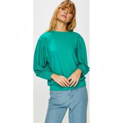 Trendyol - Bluza. Zielone bluzy damskie Trendyol, z bawełny. Za 69.90 zł.