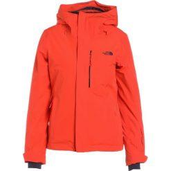 The North Face INAUGURATION Kurtka snowboardowa orange. Kurtki sportowe damskie The North Face, z materiału. W wyprzedaży za 989.10 zł.