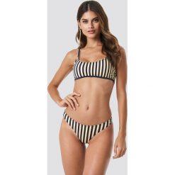 NA-KD Swimwear Sportowy dół bikini z wycięciami - Multicolor,Offwhite. Szare bikini damskie NA-KD Swimwear. Za 52.95 zł.