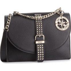 Torebka GUESS - HWVG71 69210 BLA. Czarne torebki do ręki damskie Guess, z aplikacjami, ze skóry ekologicznej. Za 629.00 zł.