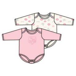 Carodel Dziecięce Body Disturb, 2 Szt., 80, Białe/Różowe. Body niemowlęce marki Pollena Savona. Za 37.00 zł.