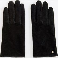 Skórzane rękawiczki - Czarny. Czarne rękawiczki damskie Reserved. Za 69.99 zł.