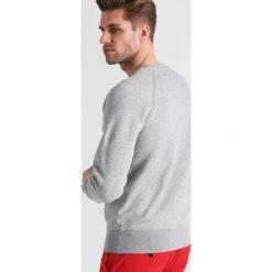 GANT ORIGINAL CNECK Bluza grey melange. Kardigany męskie GANT, z bawełny. W wyprzedaży za 341.10 zł.