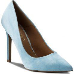 Szpilki BADURA - 2573-69-1208 Niebieski 1208. Niebieskie szpilki damskie Badura, ze skóry. W wyprzedaży za 229.00 zł.