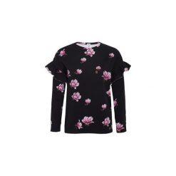 Bluza Magnolie. Czarne bluzy damskie Pinky planet, z bawełny. Za 120.00 zł.