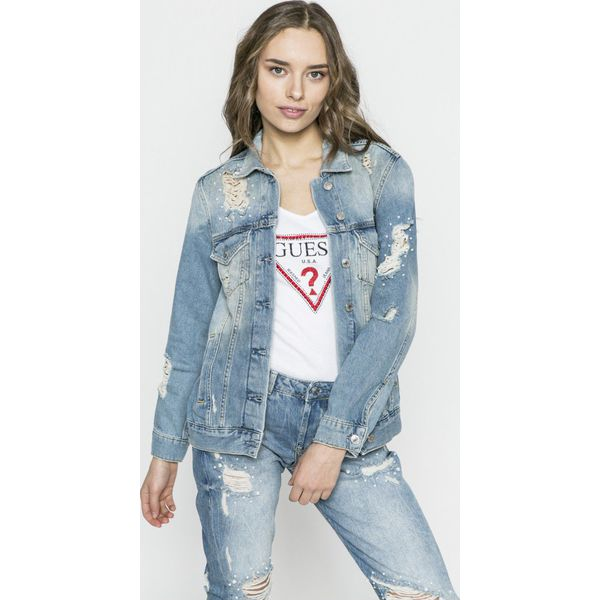 11a2da64c40cc Guess Jeans - Kurtka Ellie - Kurtki damskie marki Guess Jeans. W ...