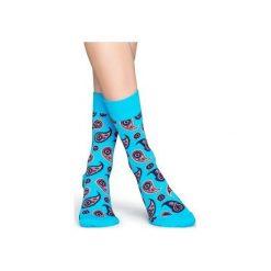 Skarpetki Happy Socks  PAI01-6001. Czerwone skarpety męskie Happy Socks, z bawełny. Za 24.43 zł.