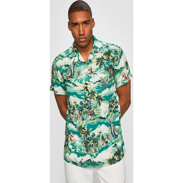 Polo Ralph Lauren Koszula Zielone koszule męskie Polo  D9d0D