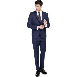 Garnitur LEONARDO GAGS000083. Niebieskie garnitury męskie Giacomo Conti, z elastanu. Za 699.00 zł.