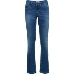Dżinsy ze stretchem STRAIGHT bonprix niebieski. Jeansy damskie marki bonprix. Za 89.99 zł.