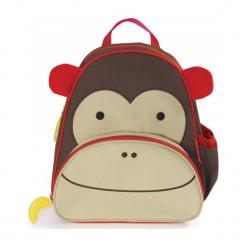 Skip Hop Zoo Plecak Małpka. Szare torby i plecaki dziecięce Skip Hop. W wyprzedaży za 75.00 zł.