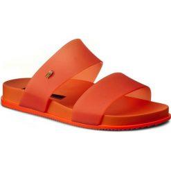 Klapki MELISSA - Cosmic Ad 31613 Orange 01871. Brązowe klapki damskie Melissa, z tworzywa sztucznego. W wyprzedaży za 179.00 zł.